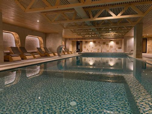 The swimming pool at or near ETER Hotel