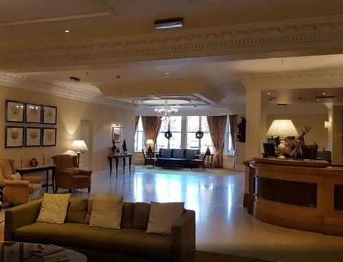 The lobby or reception area at Sprowston Manor Hotel, Golf & Country Club