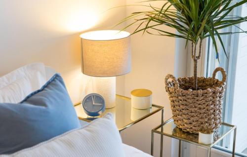 Zona de estar de Two Bedroom Apartment in Beachfront Luxury Complex