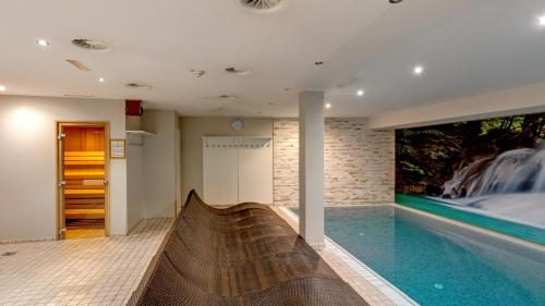 The swimming pool at or close to Banyan