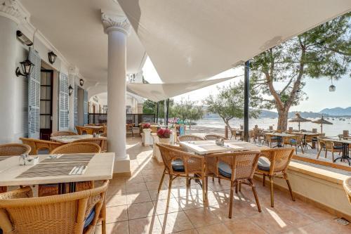 Restauracja lub miejsce do jedzenia w obiekcie Hoposa Bahia