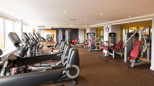 The fitness center and/or fitness facilities at Clayton Hotel Burlington Road