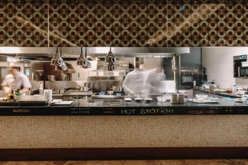 A kitchen or kitchenette at Radisson Blu Hotel Batumi