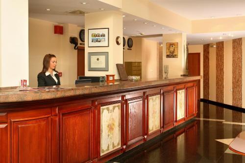 Лоби или рецепция в Хотел Анна Палас