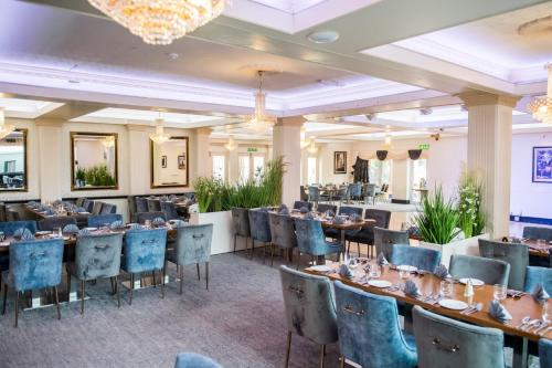 A restaurant or other place to eat at Clifton Park Hotel - Exclusive to Adults