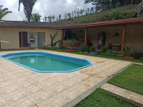 The swimming pool at or near Sitio Zocatelli