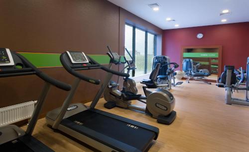 Centrum fitness w obiekcie Hampton by Hilton Gdansk Airport