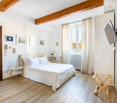 Cama o camas de una habitación en Florence Liona Apartments