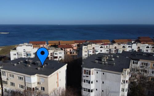 Vedere de sus a SeaView Serviced Apartments Constanta