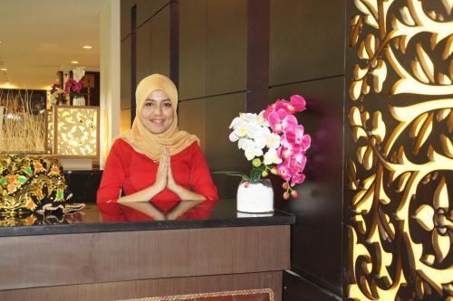 Staff members at Balairung Hotel Jakarta