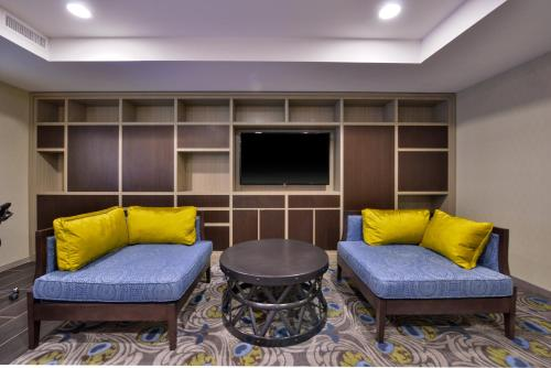 Area soggiorno di Holiday Inn New York-JFK Airport Area, an IHG Hotel