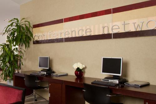 The business area and/or conference room at Holiday Inn Sofia, an IHG Hotel