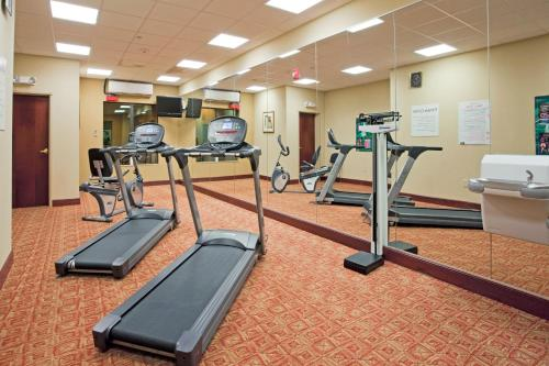 The fitness center and/or fitness facilities at Holiday Inn Express Hotel & Suites Amarillo South, an IHG Hotel