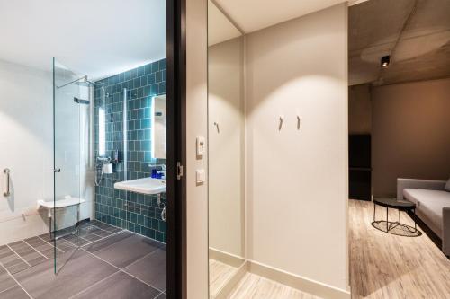 Een badkamer bij the niu Fender