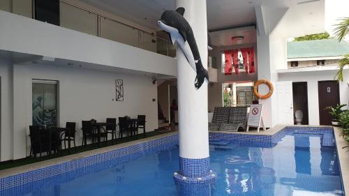The swimming pool at or close to IL Mare Sakura Resort Boracay