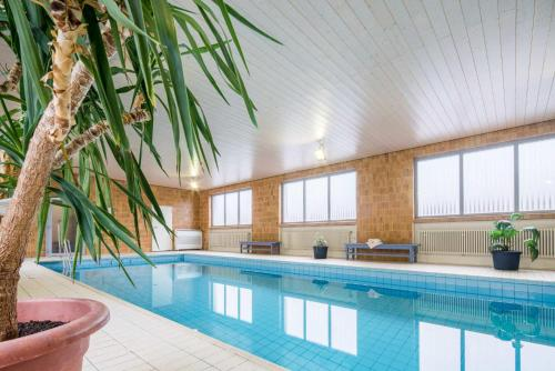 The swimming pool at or near Pension Haus Anny