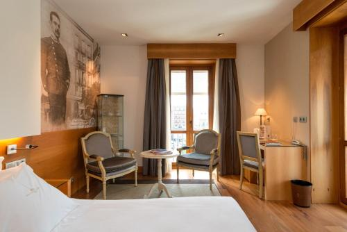 Zona de estar de Gran Hotel La Perla