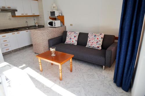 A seating area at Vivienda de uso turístico Alma da Costa da Morte