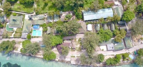 A bird's-eye view of 7SEAS Cottages