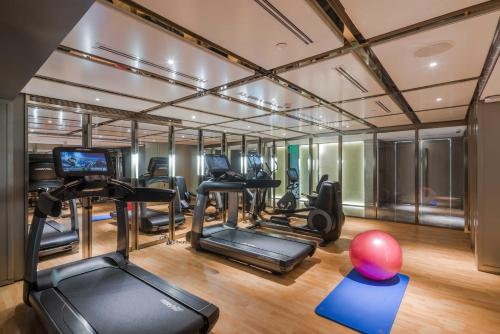 The fitness center and/or fitness facilities at Narcissus 88 Boutique Hotel Jeddah