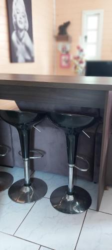 A cozinha ou cozinha compacta de Casa na Serra gaúcha