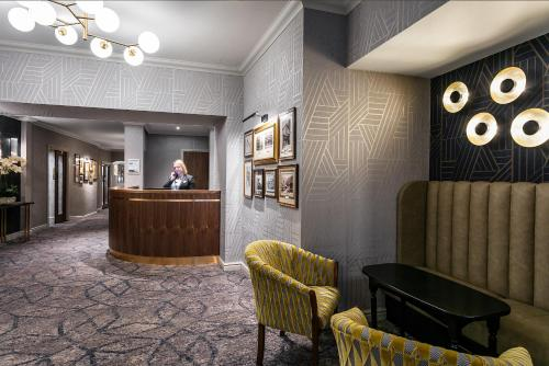 The lobby or reception area at Skiddaw Hotel