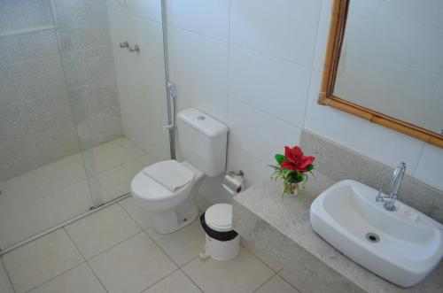 Um banheiro em Recanto da Orla