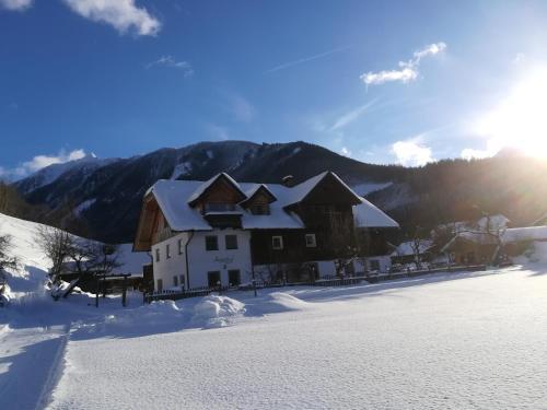 Auerhof v zimě