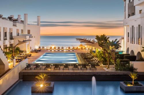 The swimming pool at or near Belmar Spa & Beach Resort