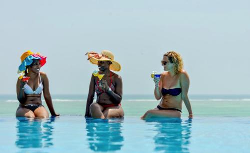 The swimming pool at or near Pearl Beach Resort & Spa Zanzibar