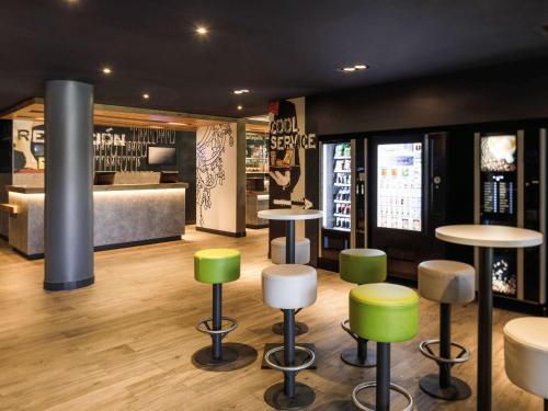The lounge or bar area at Ibis Budget Málaga Aeropuerto Avenida de Velazquez