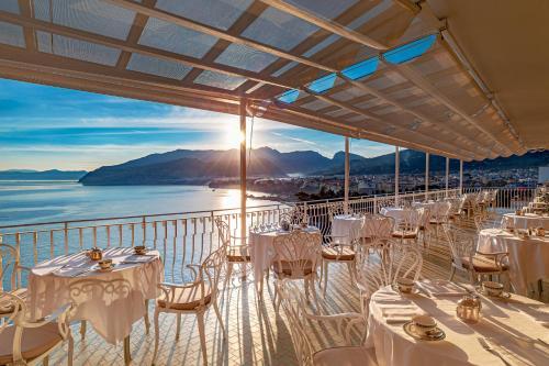 Restaurant ou autre lieu de restauration dans l'établissement Hotel Belair
