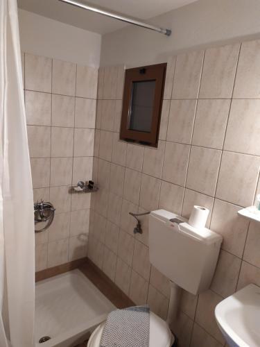 A bathroom at Casa Calda