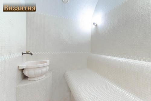 Ванная комната в Гостиница В некотором царстве