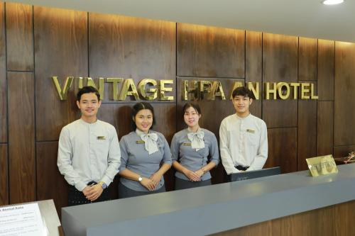 Staff members at Vintage Hpa An Hotel