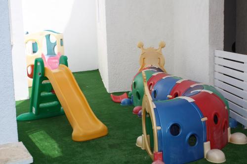 Children's play area at Hydrele Beach Hotel & Village