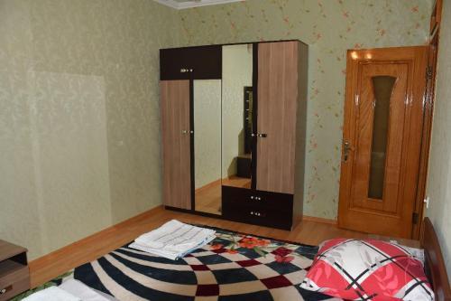 Cama ou camas em um quarto em Gabaland Villa