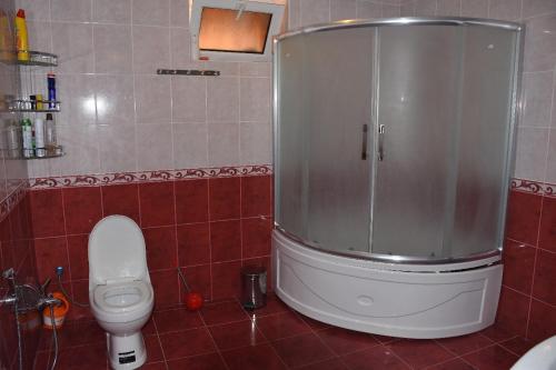 Um banheiro em Gabaland Villa