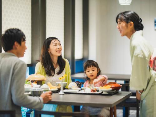 Семья в Hotel Nikko Huis Ten Bosch