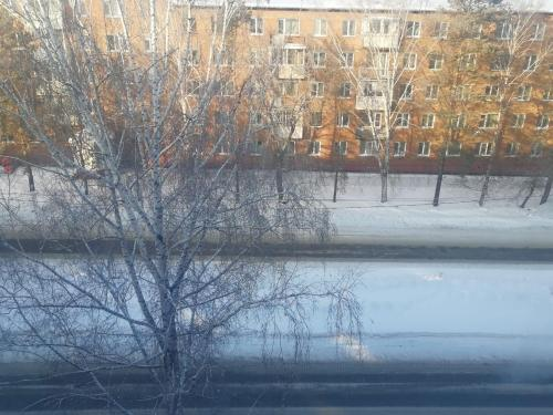Apartment on Moskovskaya 4A during the winter