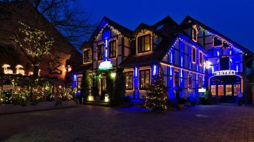 Landhaus Artischocke im Winter
