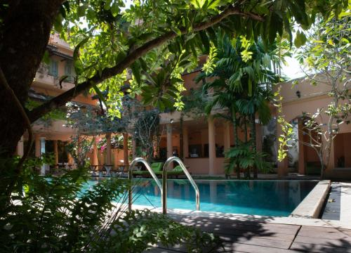 The swimming pool at or near Casa Maria