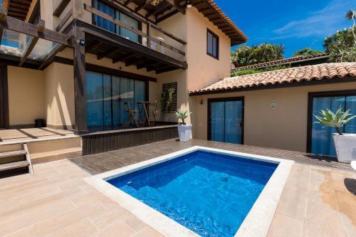 The swimming pool at or near Hotel Barra da Lagoa