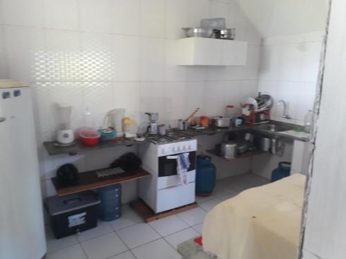 A kitchen or kitchenette at RECANTO DOS PEREIRAS