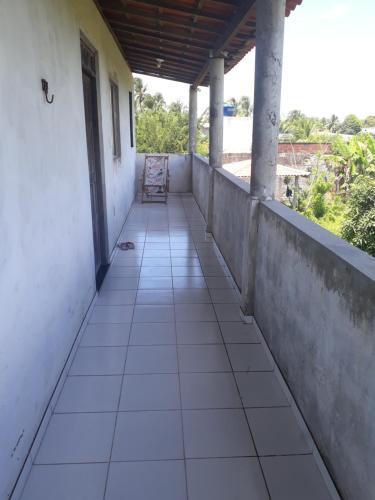 A balcony or terrace at RECANTO DOS PEREIRAS