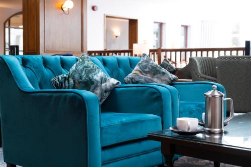 A seating area at Kingsmills Hotel, Inverness