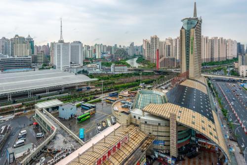 منظر هوليداي إن إكسبريس جاباي شنغهاي من الأعلى