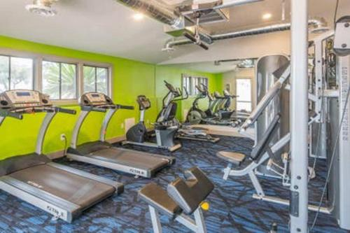 The fitness center and/or fitness facilities at WanderJaunt - Holker - 1BR - North Phoenix