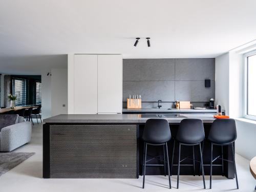 Een keuken of kitchenette bij Maison N