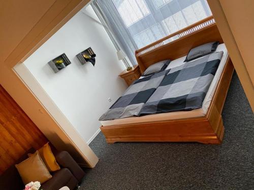 Posteľ alebo postele v izbe v ubytovaní Penzión Exclusive